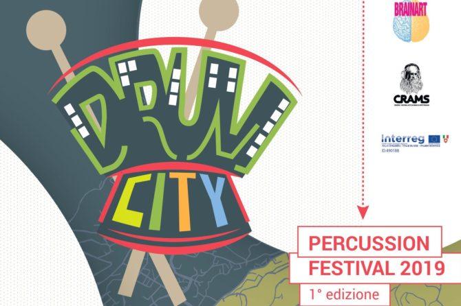 """COMUNICATO STAMPA – Benessere urbano, Arte e Ricerca Neuroscientifica  con """"DRUM CITY"""", percussion festival"""