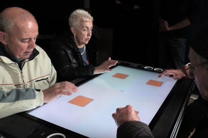 """Tavolo interattivo """"Brainart"""": la presentazione"""